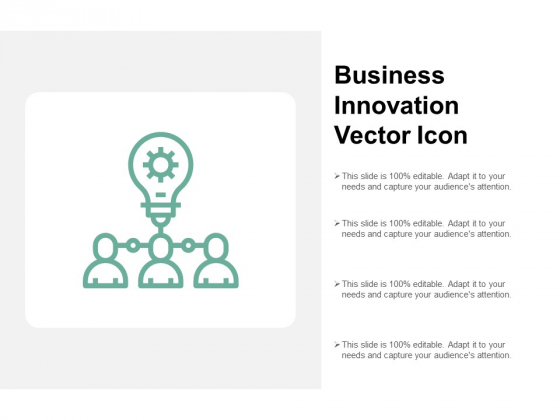 Business Innovation Vector Icon Ppt PowerPoint Presentation Show Display