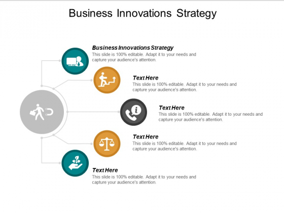 Business Innovations Strategy Ppt PowerPoint Presentation Ideas Gallery Cpb