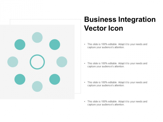 Business Integation Vector Icon Ppt PowerPoint Presentation Show Template