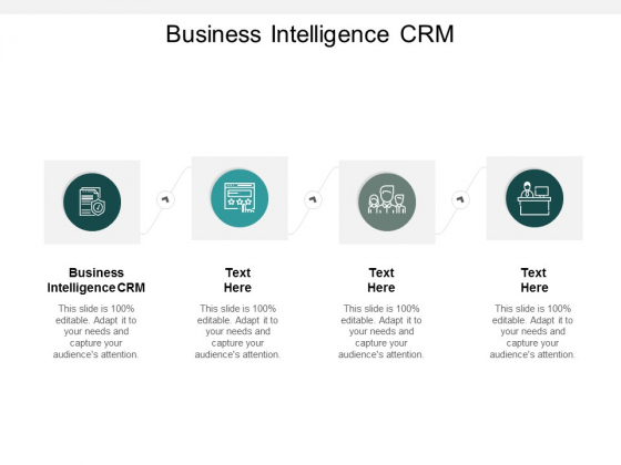 Business Intelligence CRM Ppt PowerPoint Presentation Professional Graphics Tutorials Cpb