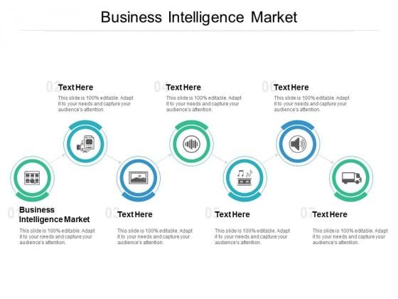 Business Intelligence Market Ppt PowerPoint Presentation Outline Slide Cpb