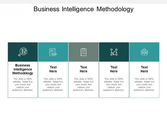 Business Intelligence Methodology Ppt PowerPoint Presentation Layouts Graphic Tips Cpb
