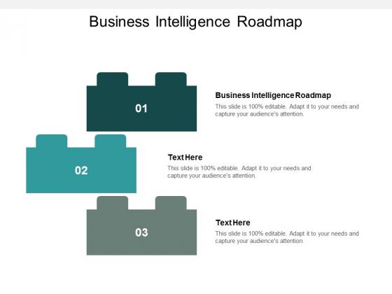 Business Intelligence Roadmap Ppt PowerPoint Presentation Professional Mockup Cpb