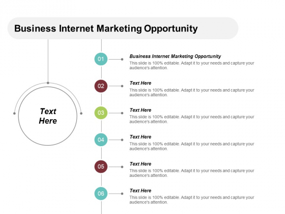 Business Internet Marketing Opportunity Ppt PowerPoint Presentation Ideas Guidelines Cpb