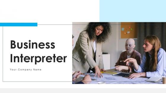 Business Interpreter Market Budget Ppt PowerPoint Presentation Complete Deck With Slides