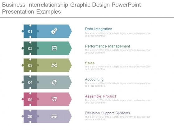 Business Interrelationship Graphic Design Powerpoint Presentation Examples