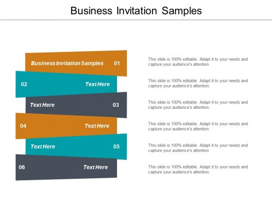 Business Invitation Samples Ppt PowerPoint Presentation Pictures Model Cpb