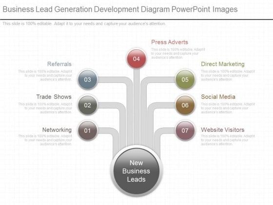 Business Lead Generation Development Diagram Powerpoint Images