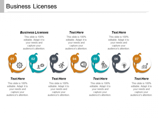 Business Licenses Ppt PowerPoint Presentation Pictures Example File