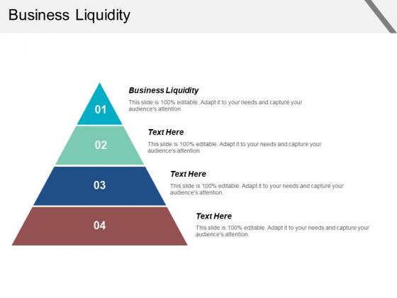 Business Liquidity Ppt PowerPoint Presentation Portfolio Graphics