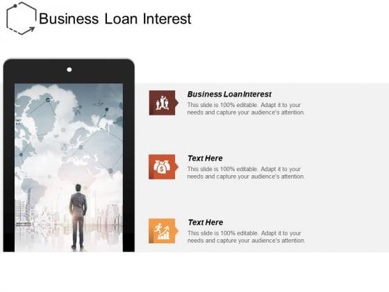 Business Loan Interest Ppt PowerPoint Presentation Portfolio Slideshow Cpb