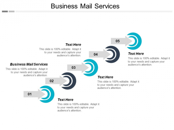 Business Mail Services Ppt PowerPoint Presentation Infographic Template Outline Cpb