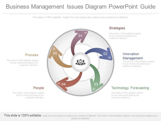 Business Management Issues Diagram Powerpoint Guide