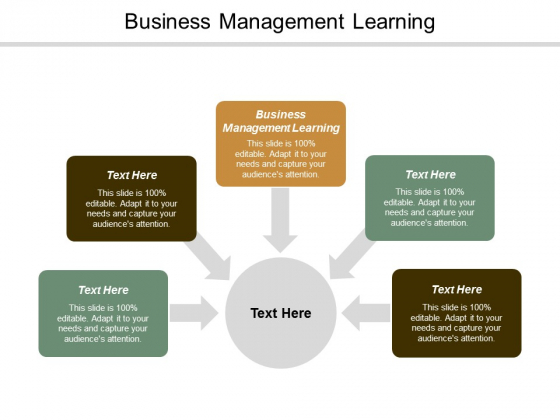 Business Management Learning Ppt Powerpoint Presentation Layouts Graphic Tips Cpb