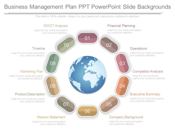 Business Management Plan Ppt Powerpoint Slide Backgrounds