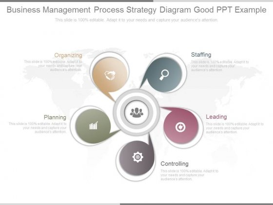 Business Management Process Strategy Diagram Good Ppt Example