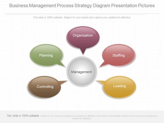 Business Management Process Strategy Diagram Presentation Pictures