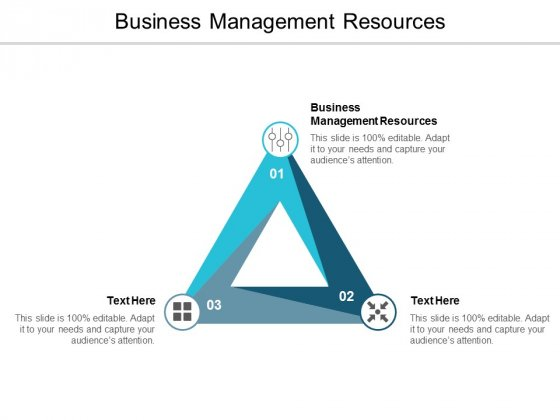 Business Management Resources Ppt PowerPoint Presentation Ideas Pictures Cpb