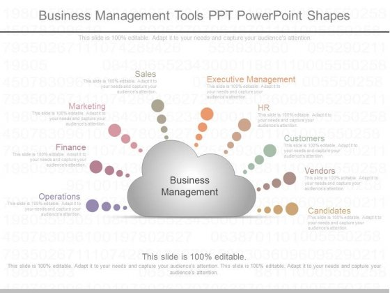 Business Management Tools Ppt Powerpoint Shapes