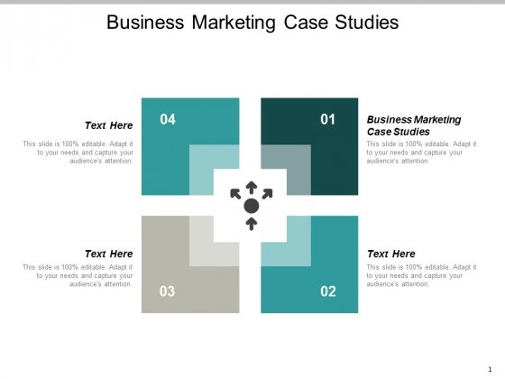 Business Marketing Case Studies Ppt Powerpoint Presentation Infographic Template Maker Cpb