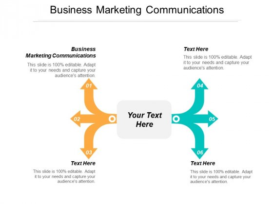 Business Marketing Communications Ppt PowerPoint Presentation Model Smartart