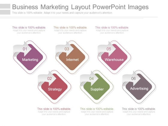 Business Marketing Layout Powerpoint Images
