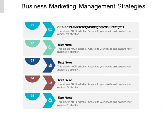 Business Marketing Management Strategies Ppt PowerPoint Presentation Icon Visual Aids Cpb
