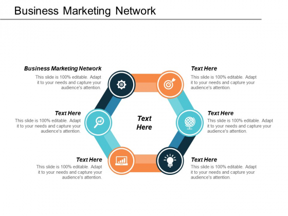 Business Marketing Network Ppt PowerPoint Presentation Outline Show Cpb