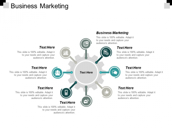 Business Marketing Ppt PowerPoint Presentation Styles Format Cpb