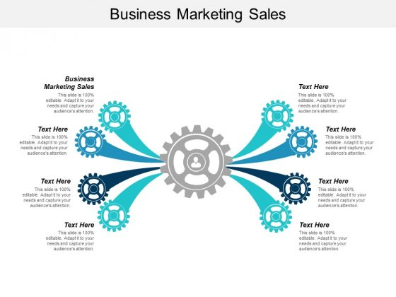 Business Marketing Sales Ppt PowerPoint Presentation Gallery Icons Cpb