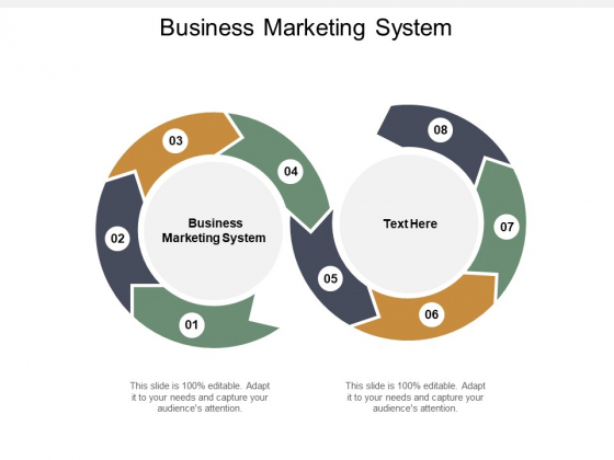 Business Marketing System Ppt PowerPoint Presentation Gallery Example Cpb