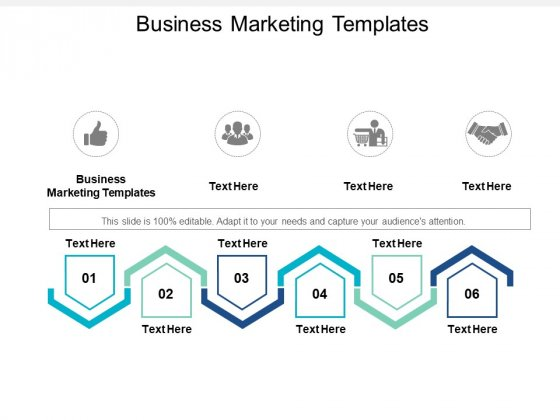 Business Marketing Templates Ppt PowerPoint Presentation File Slide Download Cpb