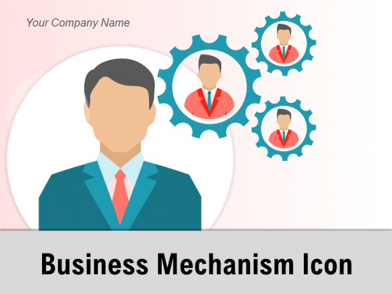 Business Mechanism Icon Strategy Bulb Gear Ppt PowerPoint Presentation Complete Deck