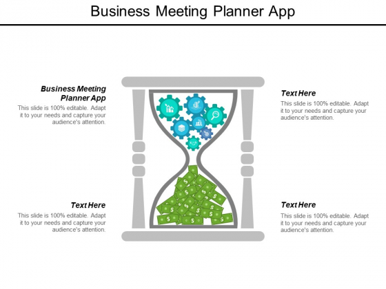 Business Meeting Planner App Ppt PowerPoint Presentation File Files Cpb