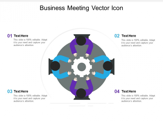 Business Meeting Vector Icon Ppt PowerPoint Presentation Pictures Background Designs