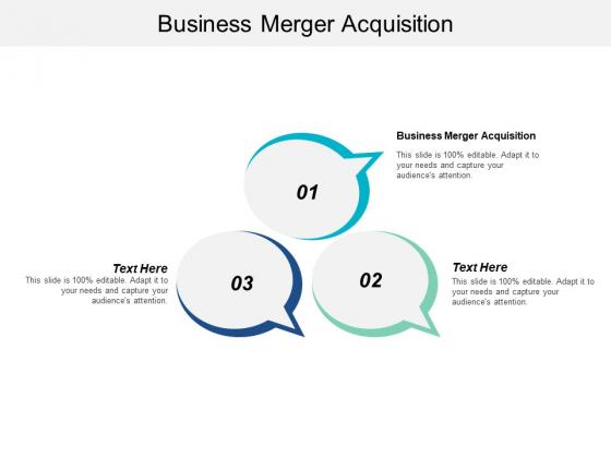 Business Merger Acquisition Ppt PowerPoint Presentation Ideas Templates Cpb