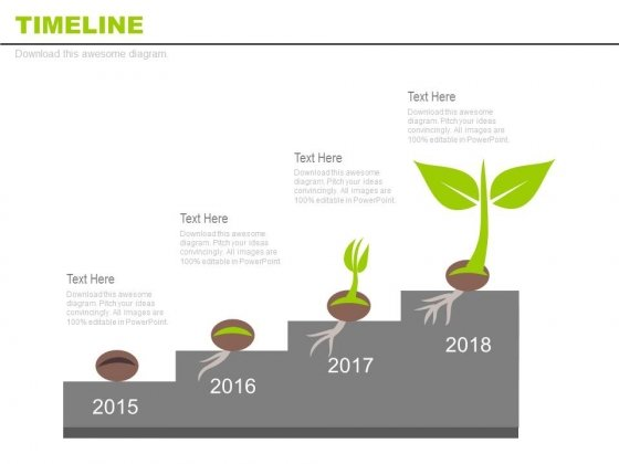 Business Milestones For Growth And Progress Powerpoint Slides