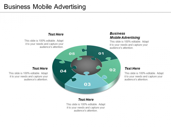 Business Mobile Advertising Ppt Powerpoint Presentation Infographic Template Ideas Cpb