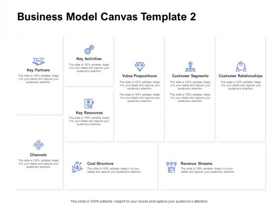 Business Model Canvas Cost Ppt Outline Icons PDF