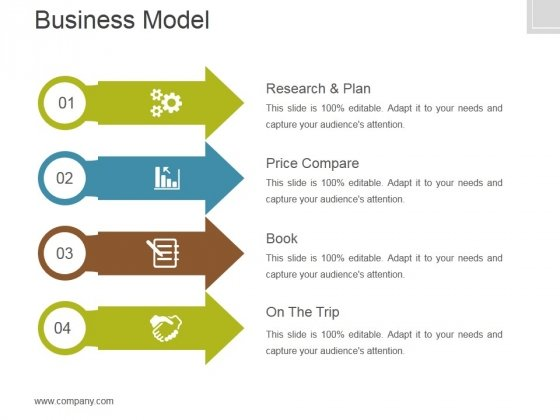 Business Model Template 2 Ppt PowerPoint Presentation Slide Download