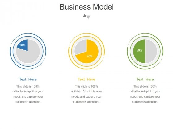 Business Model Template 2 Ppt PowerPoint Presentation Slides