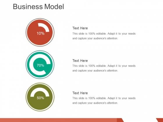 business model template 2 ppt powerpoint presentation styles