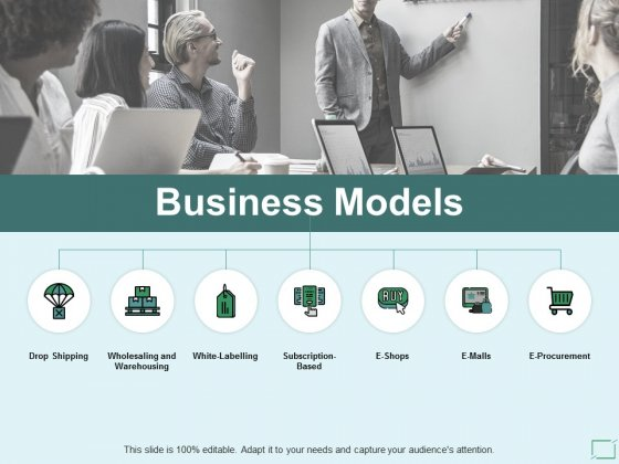 Business Models Ppt PowerPoint Presentation Gallery Grid