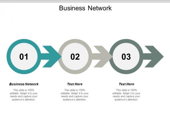Business Network Ppt PowerPoint Presentation Slides Gridlines Cpb