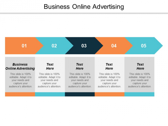 Business Online Advertising Ppt PowerPoint Presentation Portfolio Picture Cpb