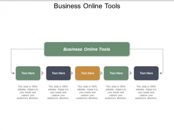 Business Online Tools Ppt PowerPoint Presentation Pictures Slideshow Cpb