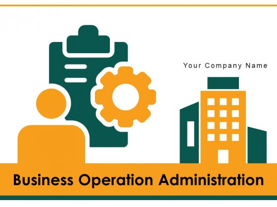 Business Operation Administration Gear Roadmap Ppt PowerPoint Presentation Complete Deck