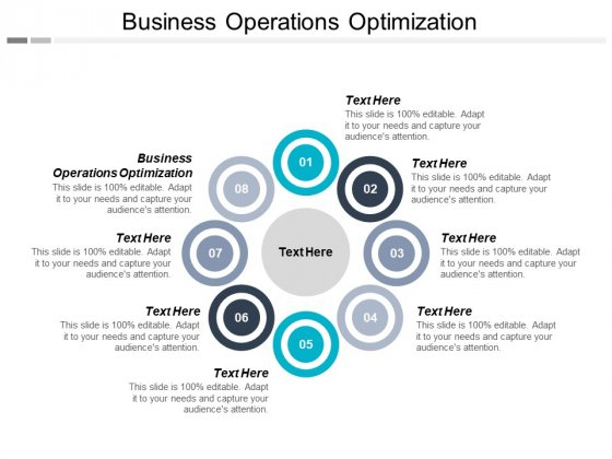 Business Operations Optimization Ppt PowerPoint Presentation Show Infographic Template Cpb