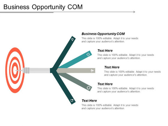Business Opportunity Com Ppt PowerPoint Presentation Infographics Clipart Images Cpb