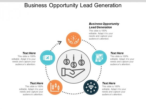 Business Opportunity Lead Generation Ppt PowerPoint Presentation Model Mockup Cpb